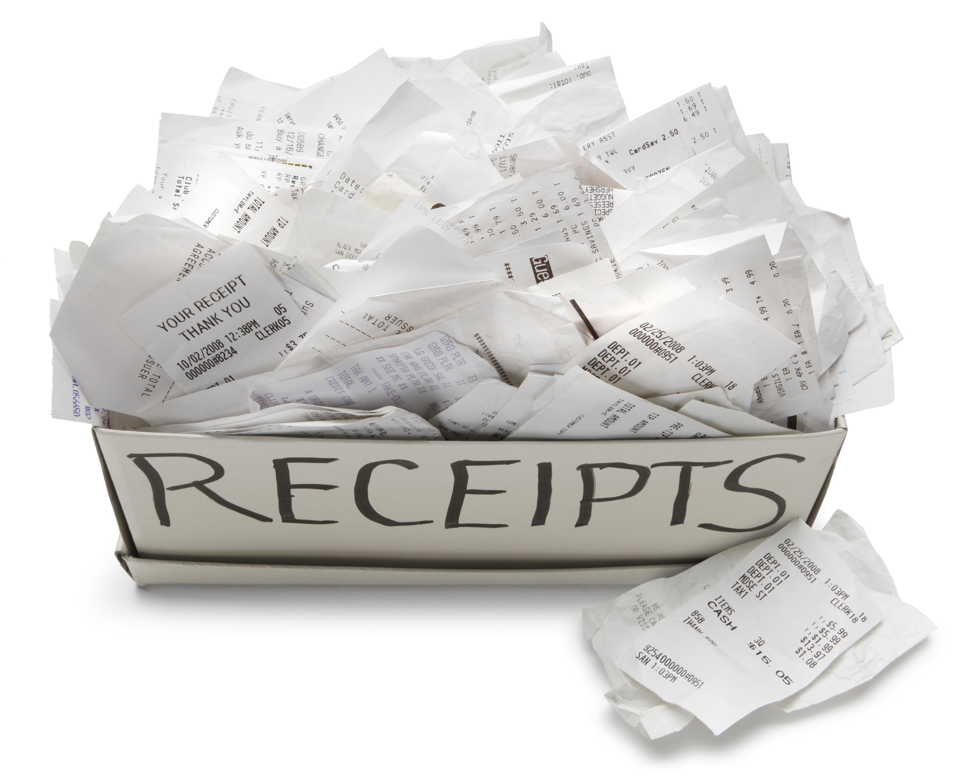 paper receipts-boss magazine