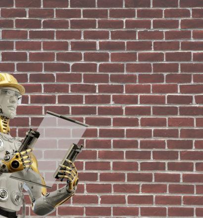 robotic bricklayer, the venture magazine
