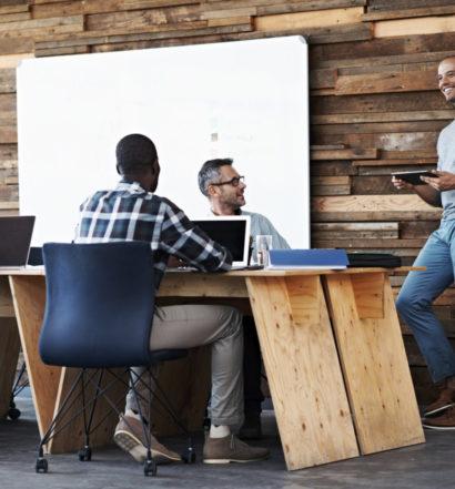 modern work environment, the venture magazine