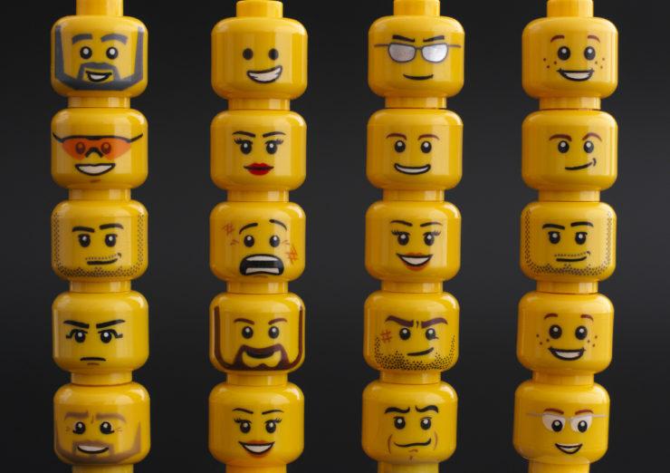 lego heads, the venture magazine