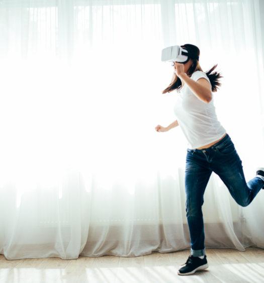 virtual reality shoes, the venture magazine