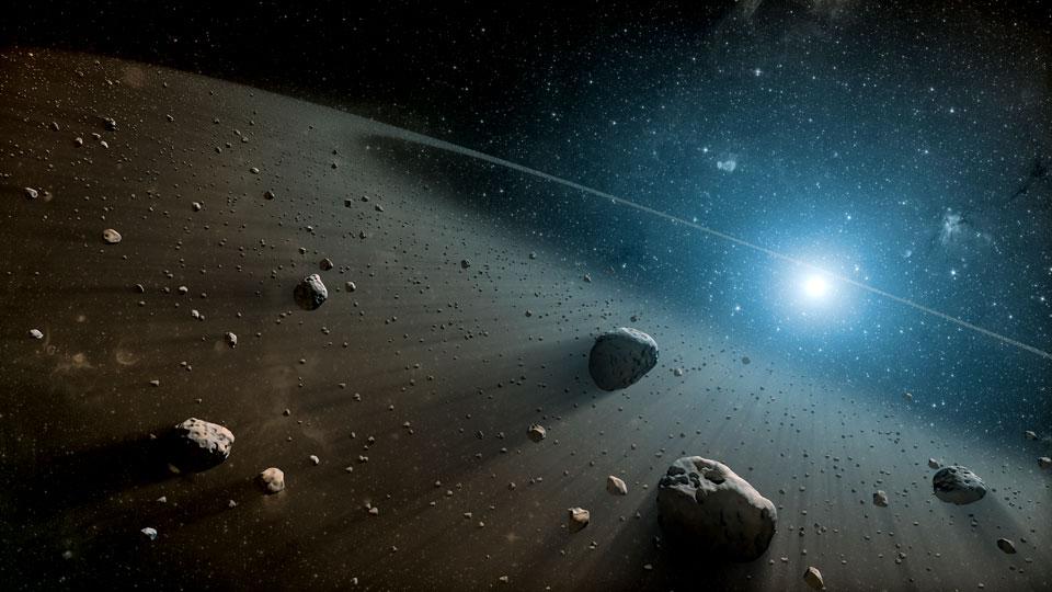asteroid mining, the venture magazine
