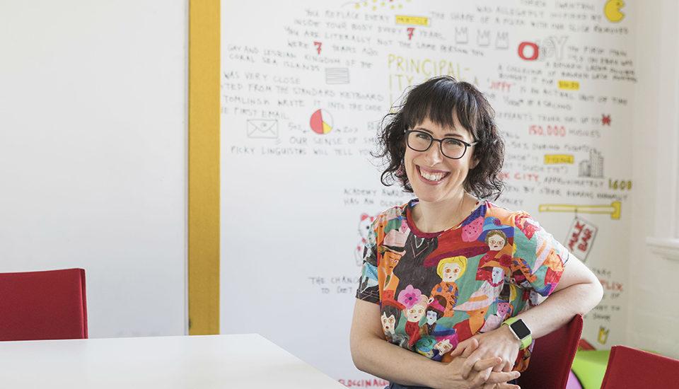 Amantha Imber, the venture magazine